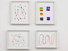 Works on Paper 1963—2013: Stephan Baumkötter, Ingrid Calame, Pamela Fraser, Steffen Lenk, Fabian Marcaccio,  Richard Allen Morris, Horst Münch, Steven Parrino, David Reed
